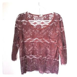 Fossil Brown Mid sleeve t-shirt